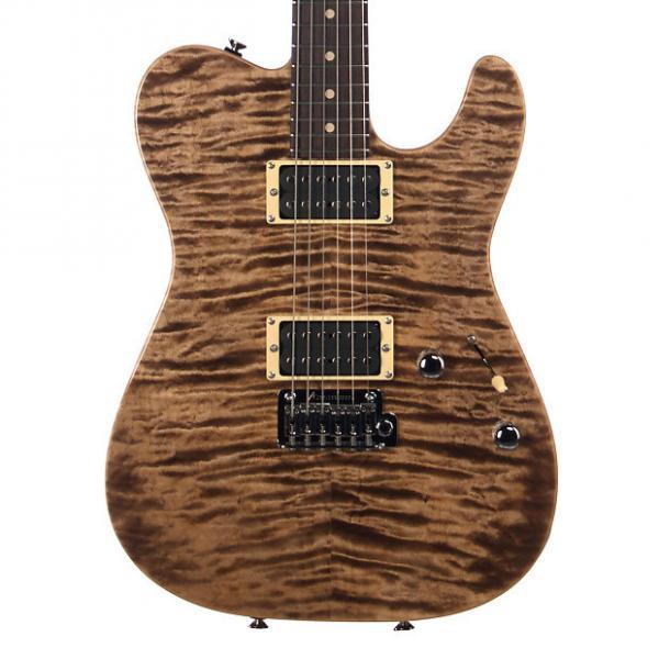 Custom Tom Anderson Guitars Cobra - Natural Mocha - Custom Boutique Electric Guitar - NEW! #1 image