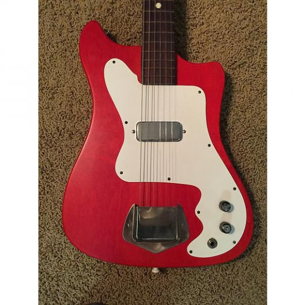 Custom Kay Vanguard 1960's Worn Red #1 image