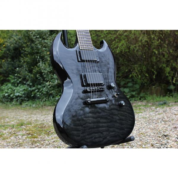 Custom Epiphone SG Prophecy Black Quilted Maple #1 image