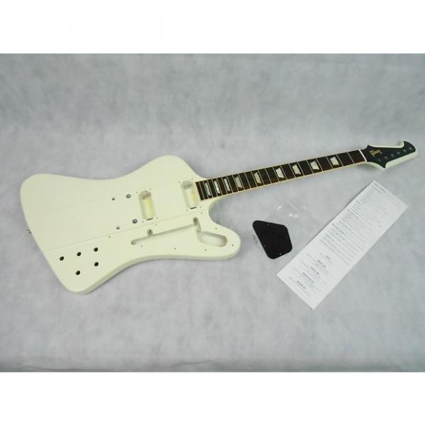 Custom 2013 Gibson USA Firebird V Body Neck Classic White Neck-Thru #1 image