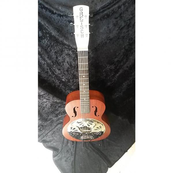 Custom martin guitar strings acoustic medium Gretsch martin G9200 martin d45 Boxcar martin acoustic guitars Round-Neck acoustic guitar strings martin Resonator Guitar Brown Mahogany #1 image
