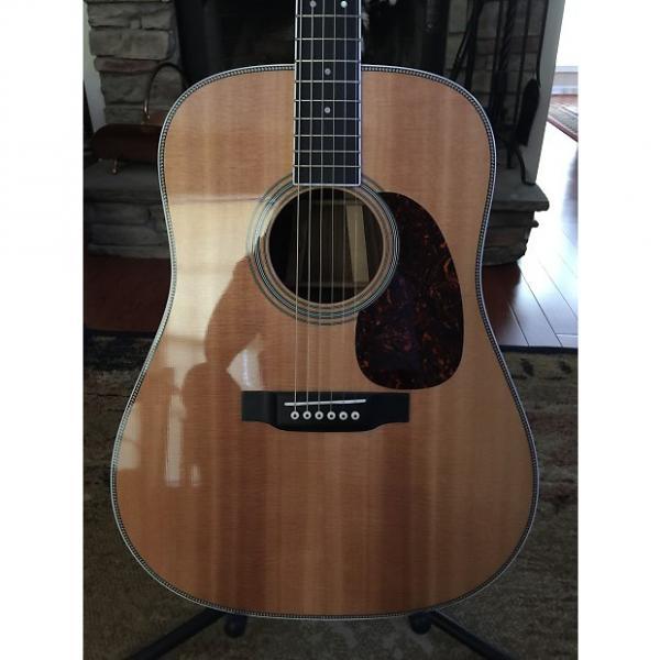 Custom acoustic guitar strings martin Martin martin d45  martin HD-35 martin acoustic guitars 2015 martin guitar strings Rosewood #1 image