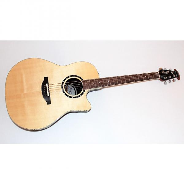 Custom dreadnought acoustic guitar Ovation guitar martin Standard martin guitar strings Balladeer martin guitar strings acoustic 2771 martin strings acoustic AX Acoustic-Electric Guitar w/ Gigbag #1 image