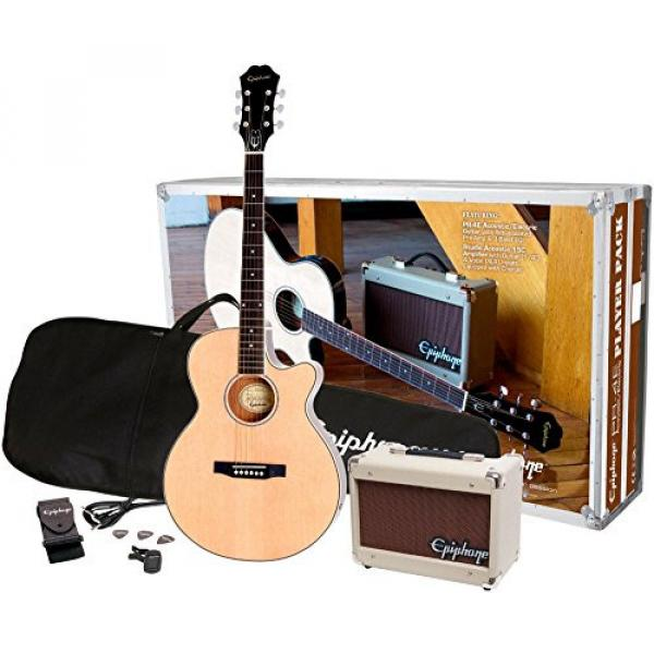 Epiphone PR-4E Acoustic/Electric Guitar Player Package #1 image