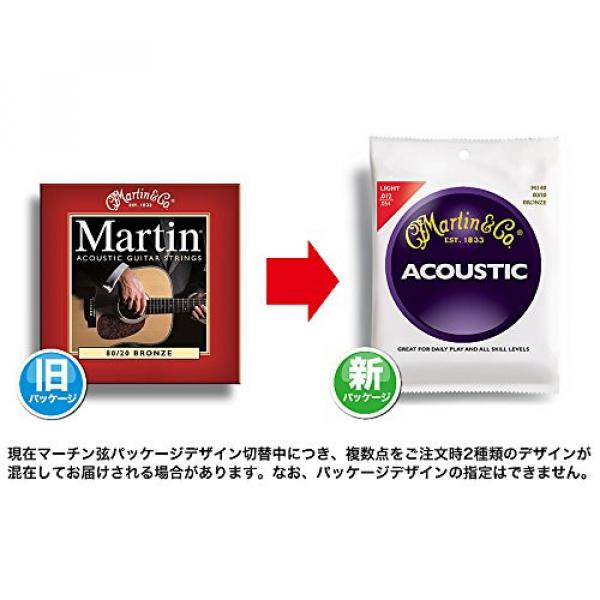 Martin martin strings acoustic M150 martin acoustic guitar 80/20 martin d45 Bronze martin guitars Round acoustic guitar strings martin Wound Medium Acoustic Guitar Strings #4 image