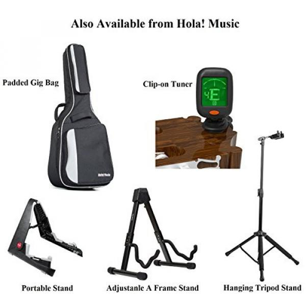 """Hola! martin acoustic strings HG-41PP martin guitar case (41"""" guitar strings martin Full martin d45 Size) martin guitar accessories Deluxe Dreadnought Acoustic Guitar, Purple #7 image"""