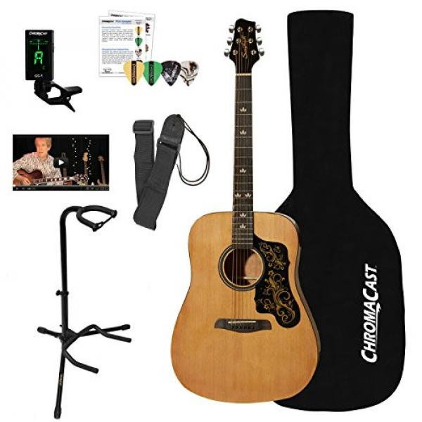 Sawtooth martin acoustic guitar Acoustic guitar martin Guitar martin strings acoustic with martin guitar accessories Black martin guitar strings Pickguard w/ custom graphic & ChromaCast Accessories #1 image