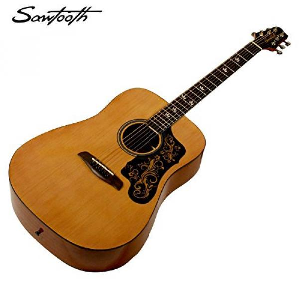 Sawtooth martin acoustic guitar Acoustic guitar martin Guitar martin strings acoustic with martin guitar accessories Black martin guitar strings Pickguard w/ custom graphic & ChromaCast Accessories #3 image