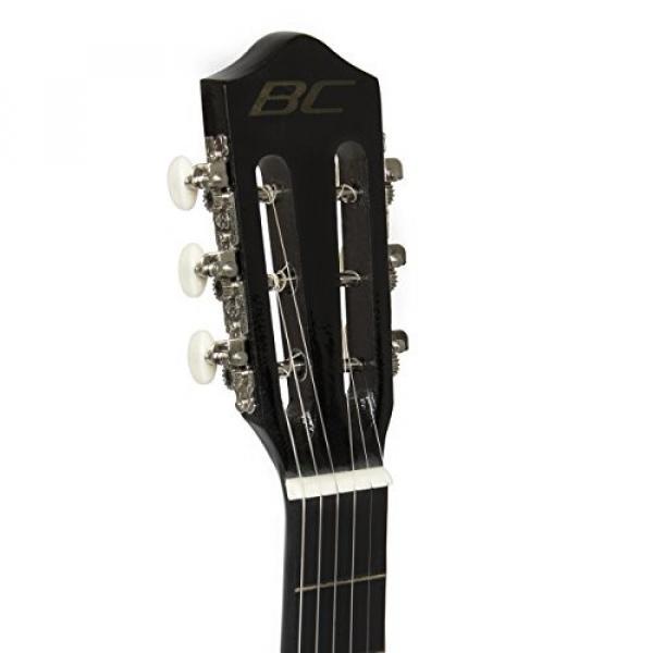 """38"""" Black Acoustic Guitar Starter Package (Guitar, Gig Bag, Strap, Pick) #5 image"""