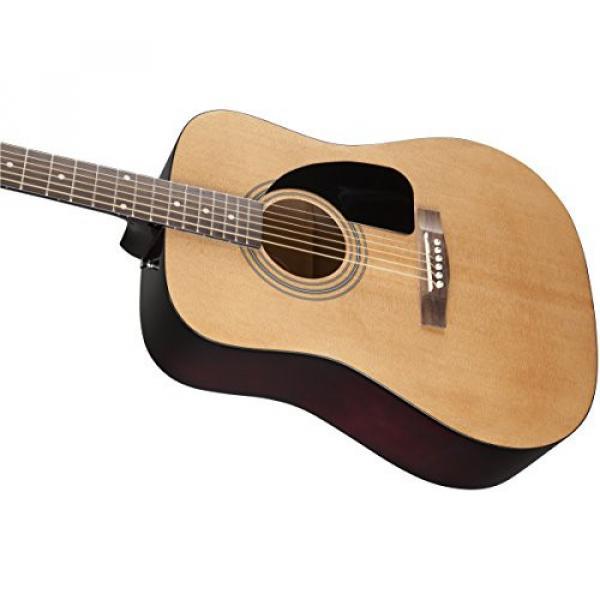 Fender acoustic guitar strings martin Acoustic martin guitar strings acoustic Guitar martin acoustic guitar strings Bundle dreadnought acoustic guitar with martin strings acoustic Gig Bag, Tuner, Strings, Strap, Picks, Austin Bazaar Instructional DVD, and #6 image
