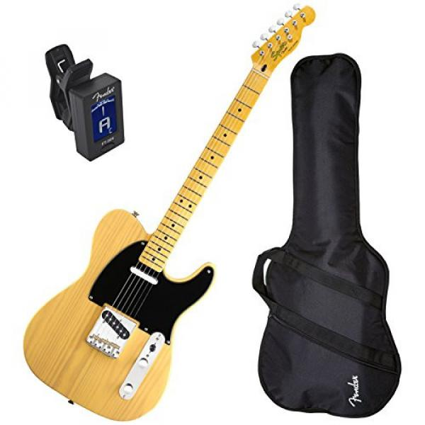 Squier Classic Vibe Tele 50's BTB Electric Guitar w/ Fender Gig Bag and Tuner #1 image