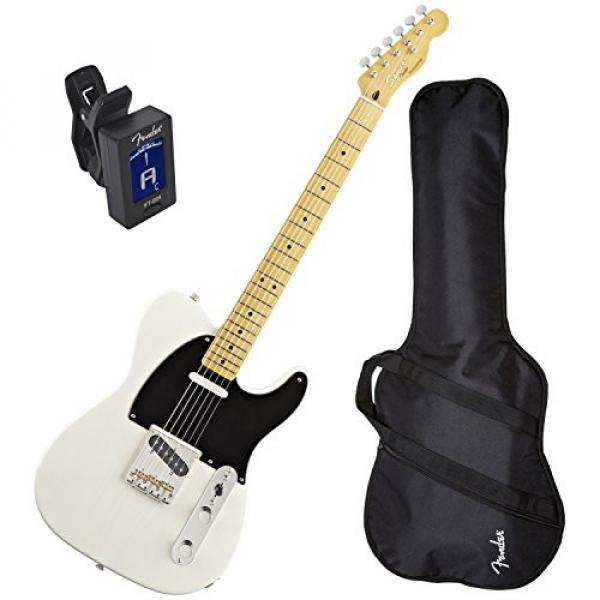 Squier Classic Vibe Telecaster '50s (Vintage Blonde Maple) w/ Fender Gig Bag and Tuner #1 image