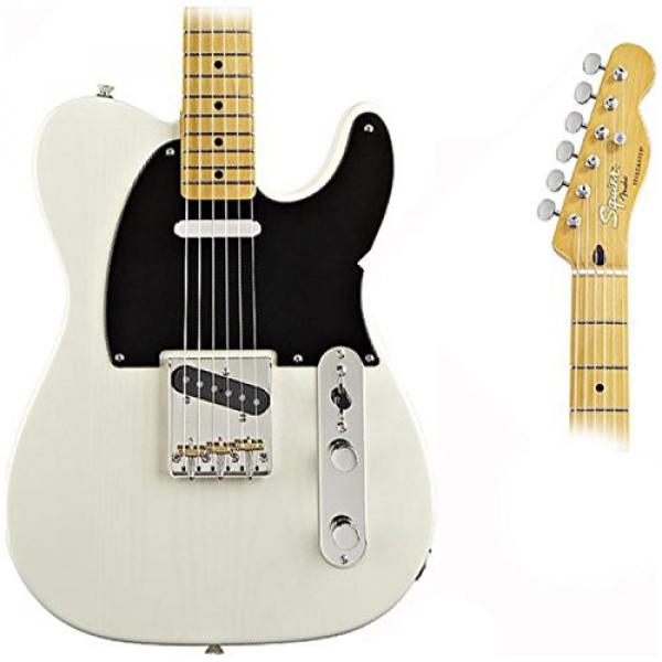 Squier Classic Vibe Telecaster '50s (Vintage Blonde Maple) w/ Fender Gig Bag and Tuner #3 image