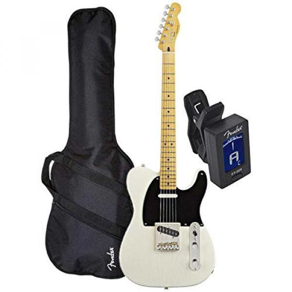 Squier Classic Vibe Telecaster '50s (Vintage Blonde Maple) w/ Fender Gig Bag and Tuner #4 image