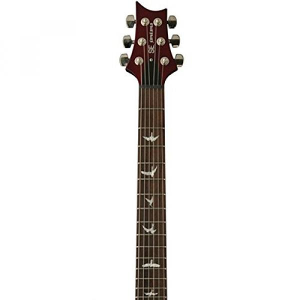 Paul Reed Smith Guitars STCSVC SE Santana Standard Electric Guitar, Vintage Cherry #3 image