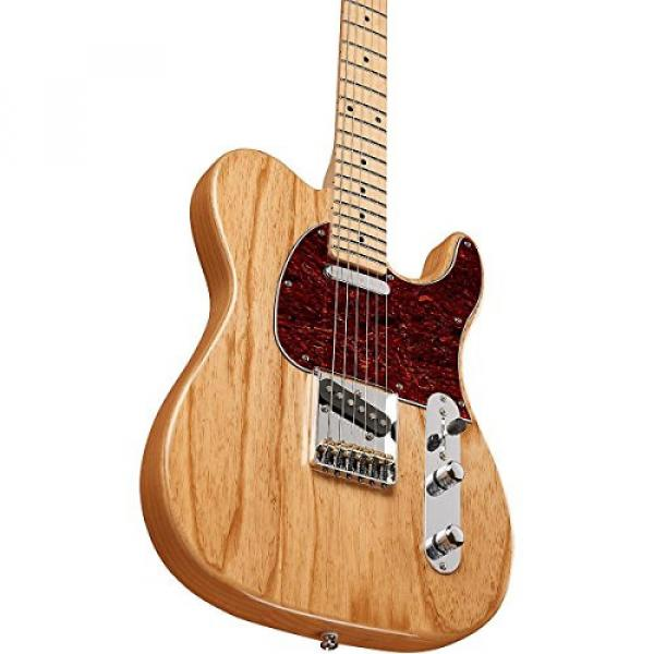 G&L Limited Edition Tribute ASAT Classic Ash Body Electric Guitar Gloss Natural #5 image