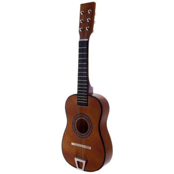 Star martin d45 MG50-BW martin guitar strings acoustic medium Kids guitar martin Acoustic martin Toy martin guitar accessories Guitar 23-Inches, Brown Color #1 image