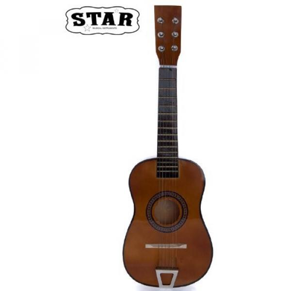 Star martin d45 MG50-BW martin guitar strings acoustic medium Kids guitar martin Acoustic martin Toy martin guitar accessories Guitar 23-Inches, Brown Color #2 image