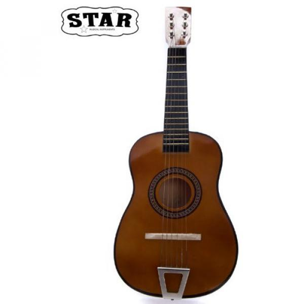 Star martin d45 MG50-BW martin guitar strings acoustic medium Kids guitar martin Acoustic martin Toy martin guitar accessories Guitar 23-Inches, Brown Color #4 image