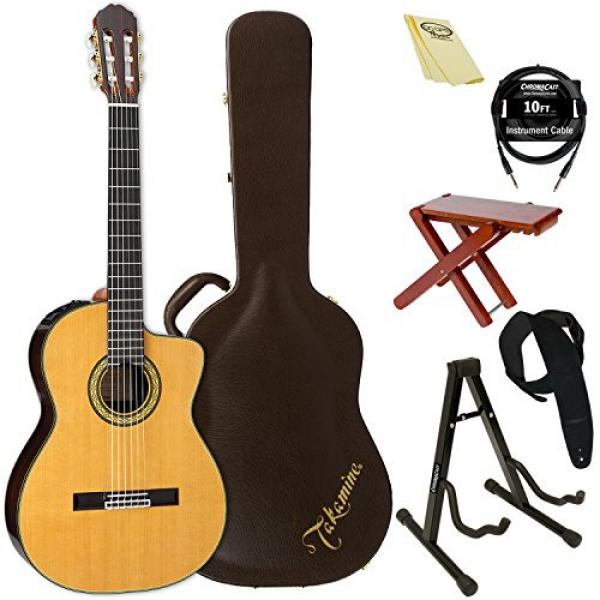 Takamine TH5C-KIT-2 Classical Nylon String Acoustic Guitar with Hard Case & ChromaCast Accessories #1 image