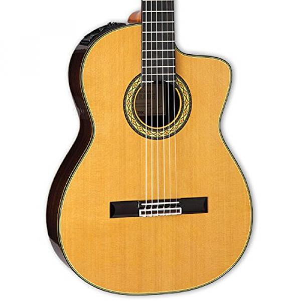 Takamine TH5C-KIT-2 Classical Nylon String Acoustic Guitar with Hard Case & ChromaCast Accessories #3 image