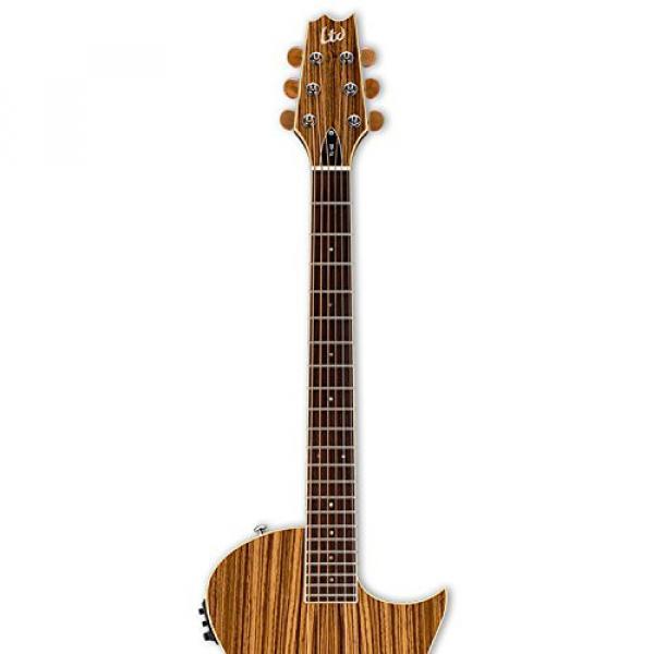 ESP martin LTL6ZNAT-KIT-2 acoustic guitar martin Thinline martin guitar accessories Series martin acoustic guitar strings TL-6Z martin guitar strings acoustic medium Acoustic-Electric Guitar, Natural Gloss #4 image
