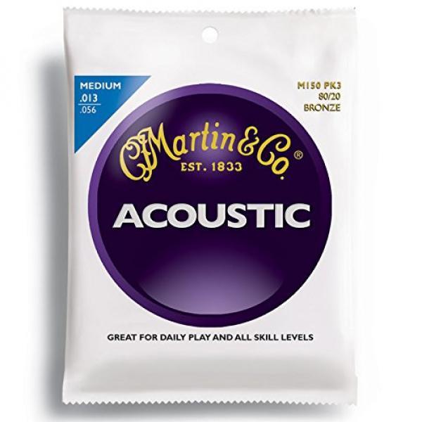 Martin martin guitar case M150 martin acoustic guitar 80/20 martin strings acoustic Acoustic martin guitar accessories Guitar martin acoustic guitar strings Strings, Medium 3 Pack #1 image