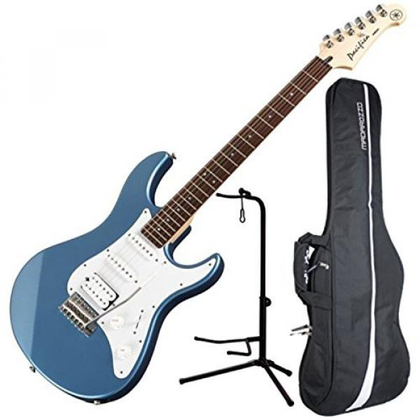 Yamaha PAC112J Pacifica HSS Double Cutaway Electric Guitar with Tremolo - Lake Blue #1 image