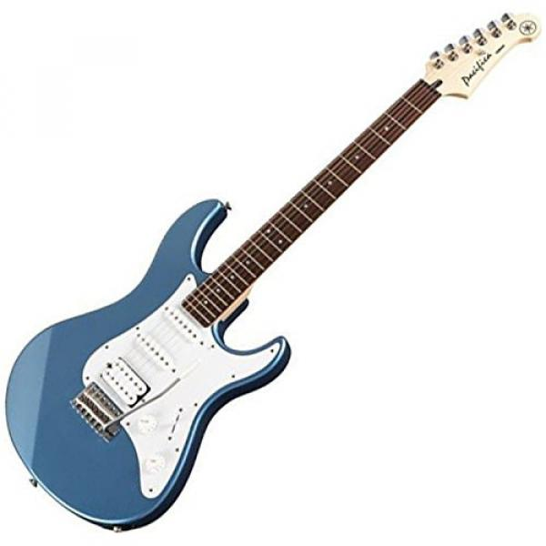 Yamaha PAC112J Pacifica HSS Double Cutaway Electric Guitar with Tremolo - Lake Blue #2 image