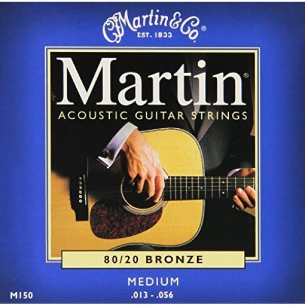 Martin martin strings acoustic M150 martin acoustic guitar 80/20 martin d45 Bronze martin guitars Round acoustic guitar strings martin Wound Medium Acoustic Guitar Strings #3 image