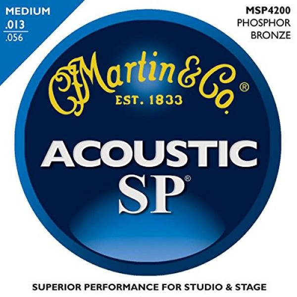 Martin martin d45 MSP4200 guitar strings martin SP martin guitars acoustic Phosphor acoustic guitar martin Bronze martin guitar strings acoustic medium Medium 12-Pack Acoustic Guitar Strings #2 image
