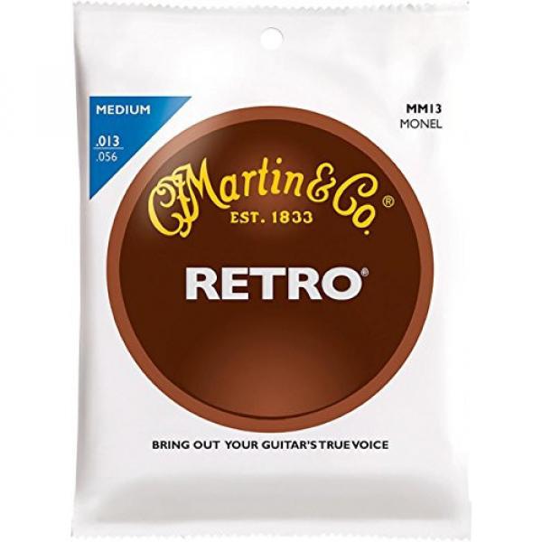 Martin martin Retro martin guitar strings acoustic medium Acoustic martin guitar Guitar martin acoustic strings Strings martin guitar case Medium Gauge #1 image