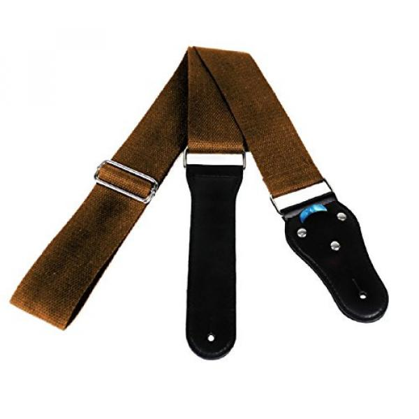 Acoustic martin guitars Guitar martin acoustic guitar strings Strap martin acoustic guitars - acoustic guitar strings martin Soft guitar martin Cotton no Slide During Playing and Cut Into Your Body Like Nylon - Wide Adjustment Range and Secure Leather Hol #1 image