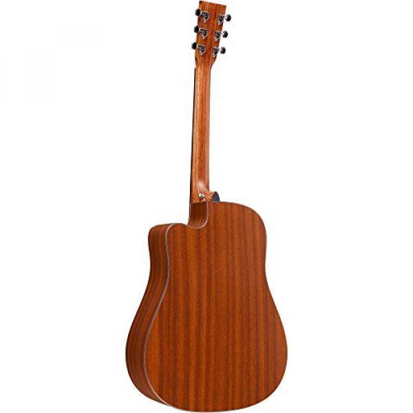 Martin martin guitar strings Performing martin guitars Artist martin acoustic strings Series acoustic guitar strings martin DCPA5 acoustic guitar martin Dreadnought Acoustic-Electric Guitar Natural #4 image
