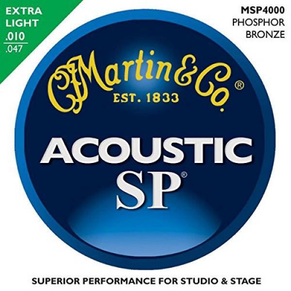 Martin guitar martin MSP4000 martin acoustic strings SP martin guitar strings acoustic medium Phosphor martin acoustic guitars Bronze martin guitar strings Extra Light Acoustic Guitar Strings (2 Pack) #2 image