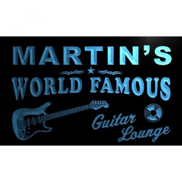 pf1016-b martin guitar case Martin's martin strings acoustic Guitar martin d45 Lounge martin guitar accessories Beer acoustic guitar martin Bar Pub Room Neon Light Sign #1 image