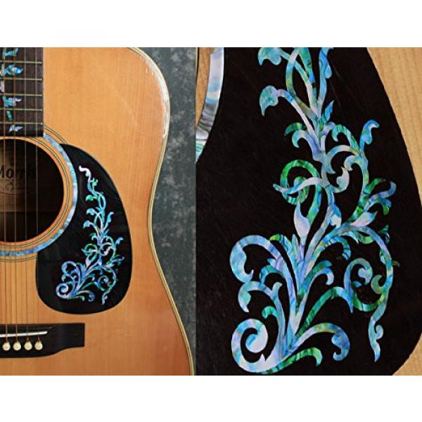 Inlay martin d45 Sticker acoustic guitar martin Decals martin guitar strings acoustic medium for martin acoustic guitars Guitar martin acoustic guitar strings Bass - L&R Set Vintage Vine -Mix #2 image