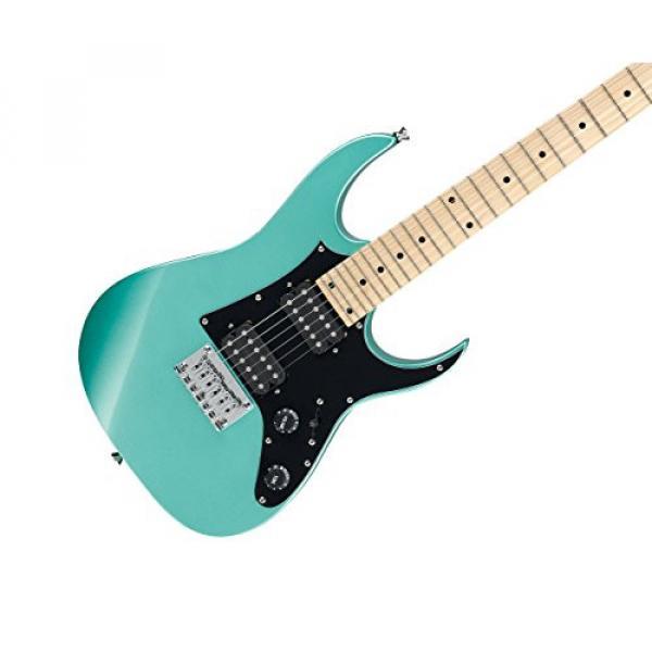 Ibanez GRGM21M 6-String Electric Guitar - Metallic Light Green #2 image