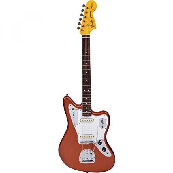 Fender Johnny Marr Signature Jaguar Electric Guitar, Metallic Kandy Orange #1 image