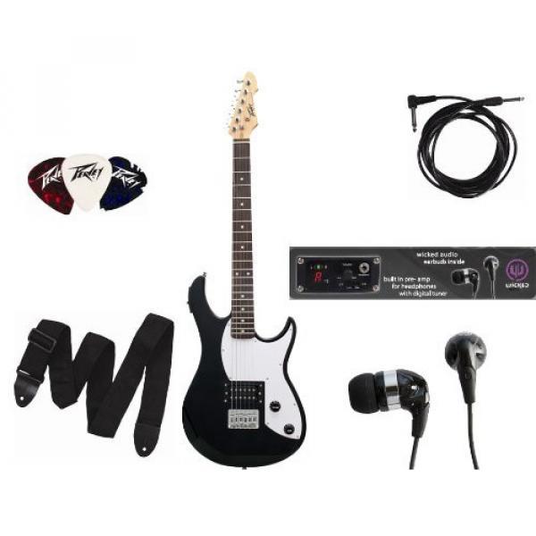 Peavey Rockmaster Guitar, Gloss Black #1 image