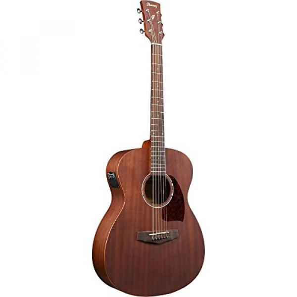 Ibanez PC12MHCEOPN Grand Concert Acoustic Electric Mahogany Guitar Satin Natural #2 image
