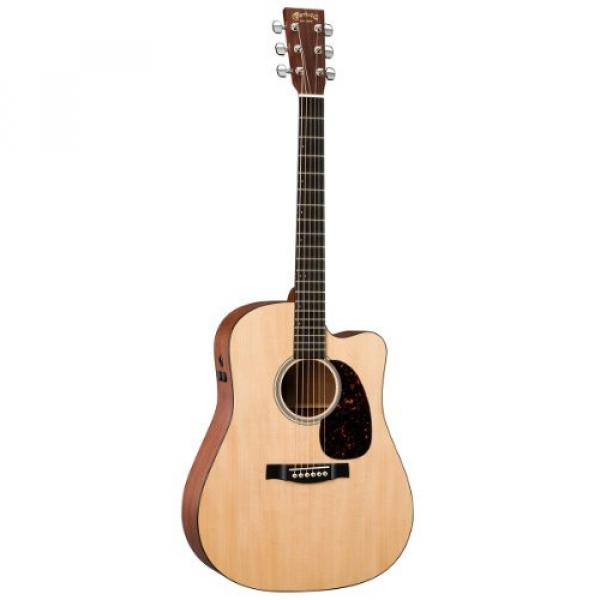 Martin martin acoustic strings DCPA4 martin strings acoustic Performing martin guitars acoustic Artist dreadnought acoustic guitar Series martin acoustic guitar strings Acoustic-Electric Guitar with Hardshell Case - Natural #1 image