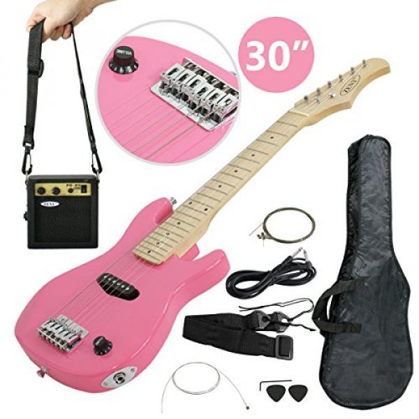 "Zeny martin guitar strings 30"" martin Kids martin d45 Pink martin acoustic guitar Electric martin acoustic guitars Guitar with Amp & Much More Guitar Combo Accessory Kit #2 image"