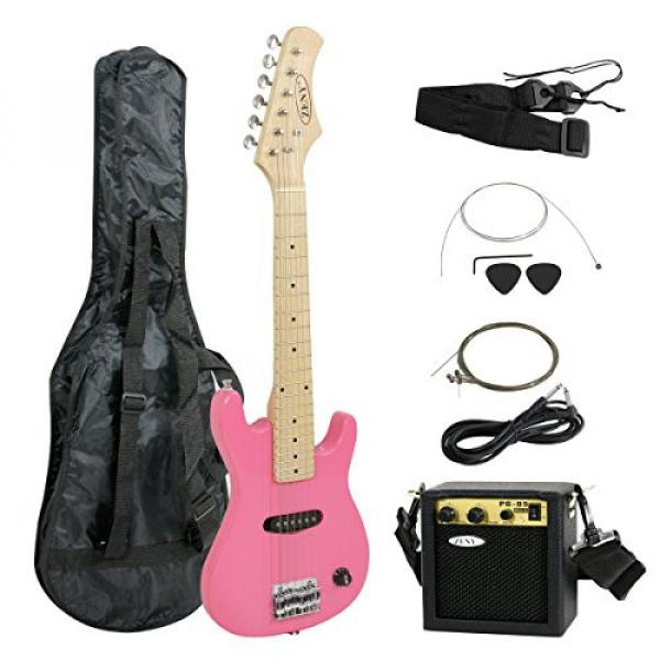 "Zeny martin guitar strings 30"" martin Kids martin d45 Pink martin acoustic guitar Electric martin acoustic guitars Guitar with Amp & Much More Guitar Combo Accessory Kit #1 image"