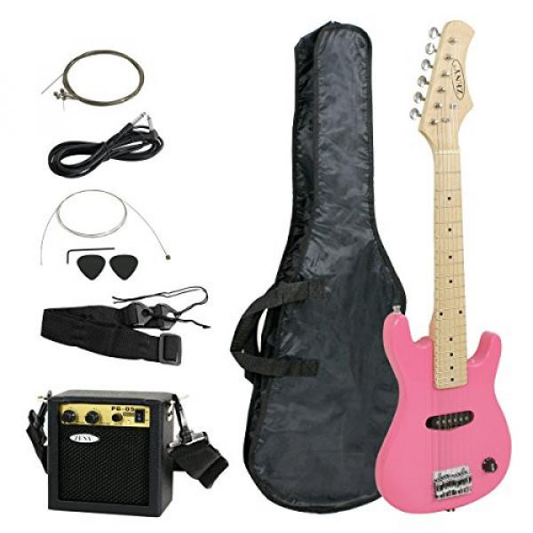 "Zeny martin guitar strings 30"" martin Kids martin d45 Pink martin acoustic guitar Electric martin acoustic guitars Guitar with Amp & Much More Guitar Combo Accessory Kit #3 image"