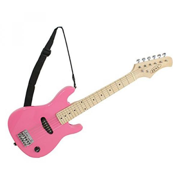 "Zeny martin guitar strings 30"" martin Kids martin d45 Pink martin acoustic guitar Electric martin acoustic guitars Guitar with Amp & Much More Guitar Combo Accessory Kit #7 image"