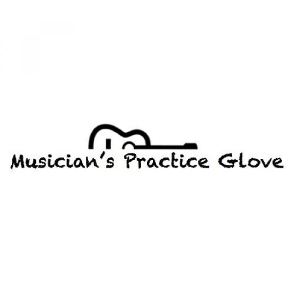 Guitar Glove, Bass Glove, Musician Practice Glove -XL- 2 Pack - fits either hand - COLOR: BLACK #2 image