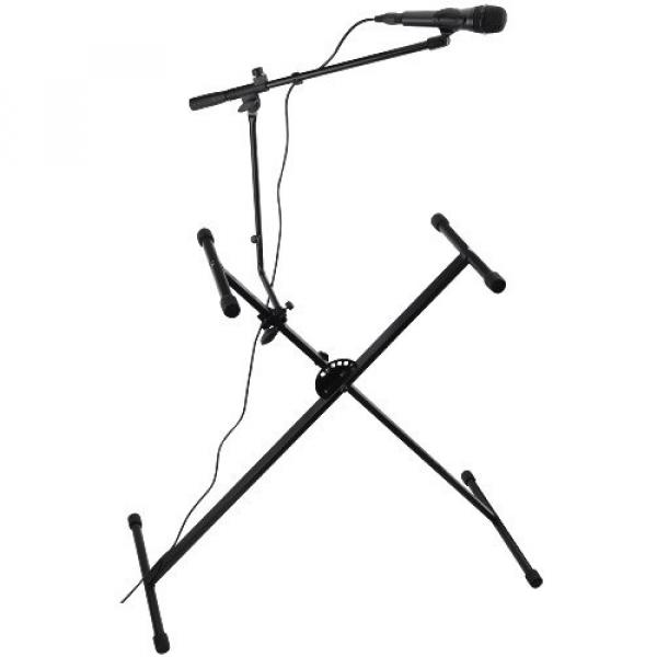 Spectrum martin acoustic guitars AIL martin strings acoustic KS martin guitar accessories Adjustable martin Keyboard martin acoustic guitar Stand with Microphone Boom Arm #1 image
