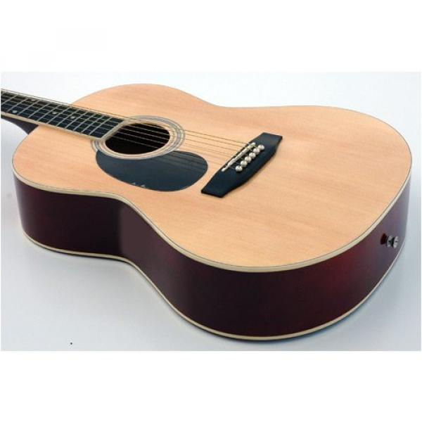 NEW QUALITY LEFTY STUDENT ACOUSTIC GUITAR LEFT HANDED #1 image