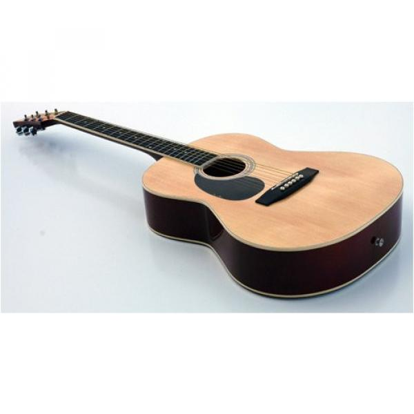 NEW QUALITY LEFTY STUDENT ACOUSTIC GUITAR LEFT HANDED #2 image